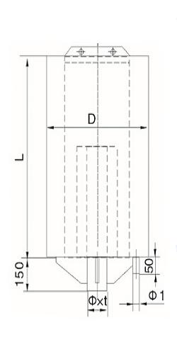 蒸汽消音器结构图_复合式消音器_消音器_产品分类_产品中心_上海安泉机械有限公司